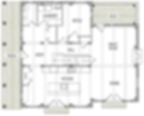 Cambridge timber frame floorplan