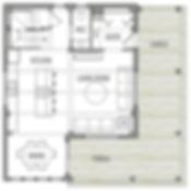 Warren small timber frame floorplan