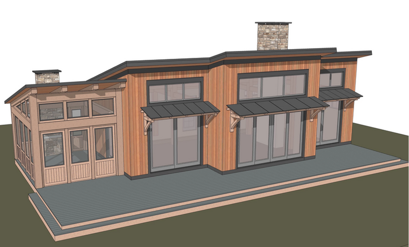 Taconic timber frame exterior