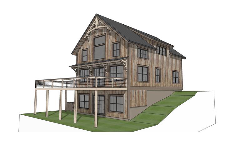 Breckenridge timber frame exterior