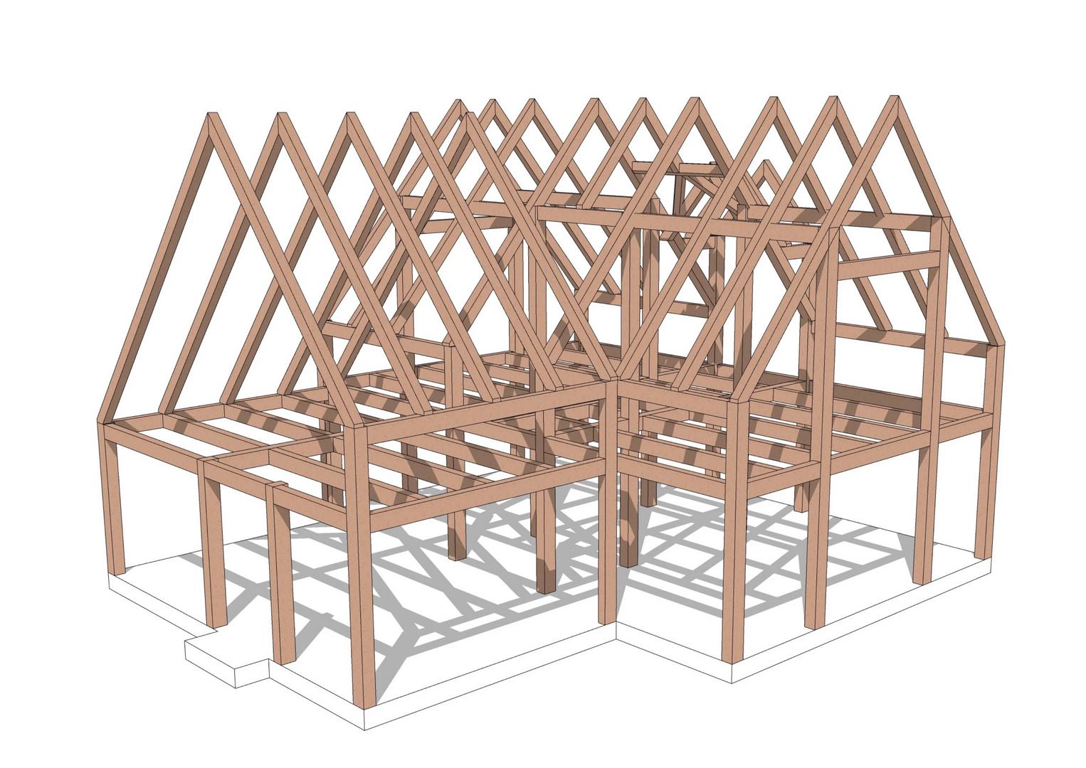 Cambridge timber frame
