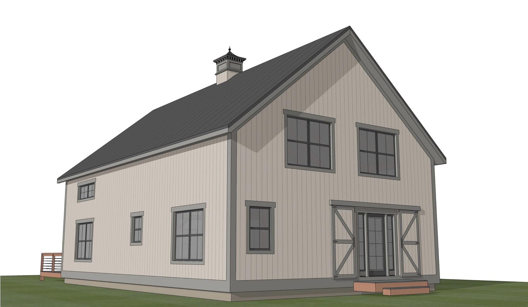 Stratton barn home exterior