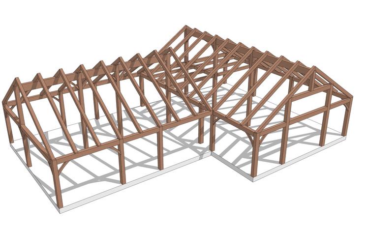Burke timber frame