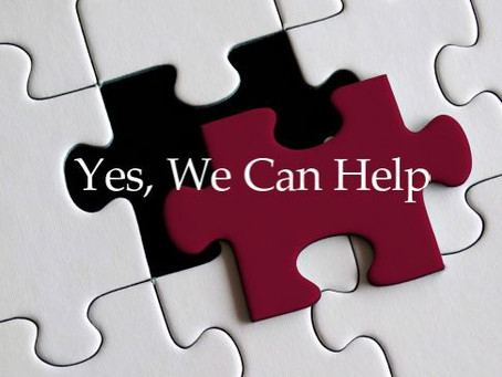 Yes, We Can Help (October 2020)