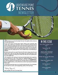 2019 (04) 30 LHP Tennis Newsletter cover