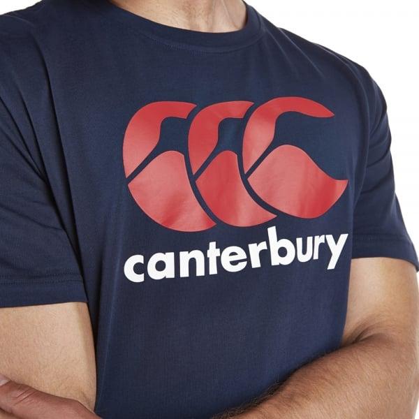 ccc-logo-tee-blue model