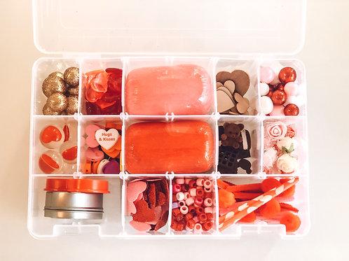 Be My Valentine Playdough Sensory Kit