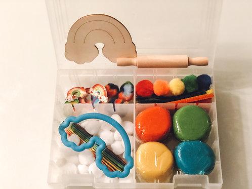 Rainbow Playdough Sensory Kit