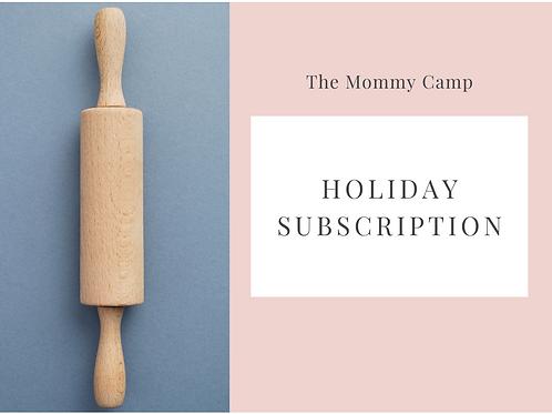 Holiday Subscription - 5 Kits