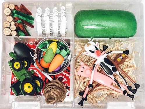 Farm Playdough Sensory Kit