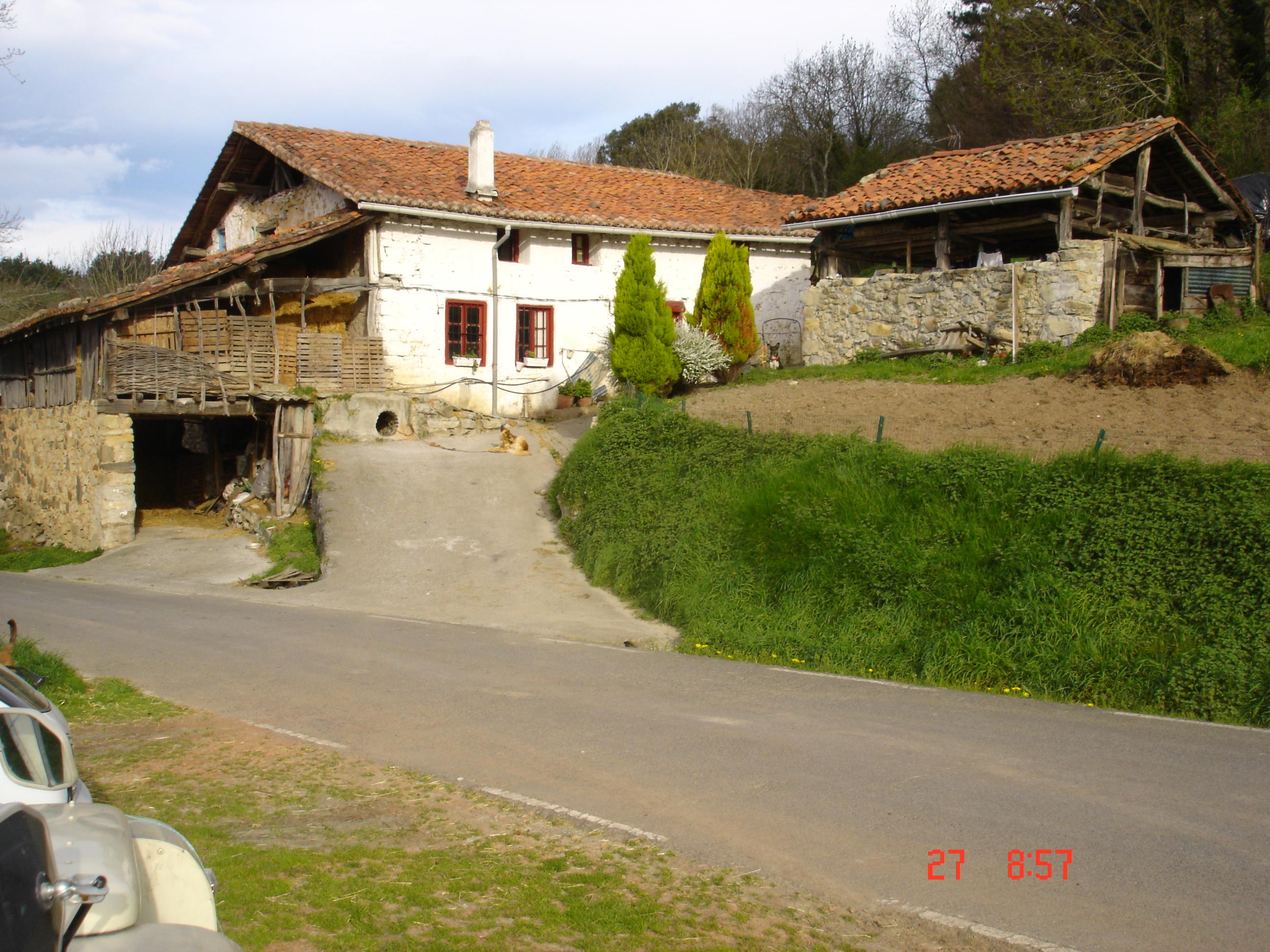 Estado original, fachada principal