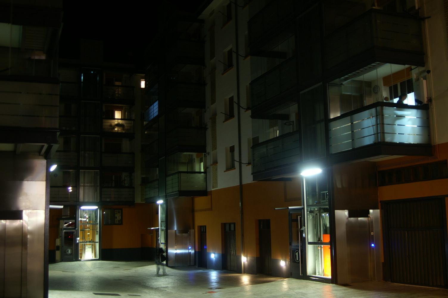 Iluminación nocturna sostenible