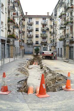 Renovación de saneamiento