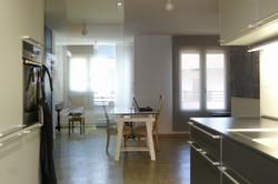 Interior desde cocina