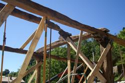 Recuperación estructura de cubierta