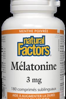 NF Mélatonine 3mg - Menthe
