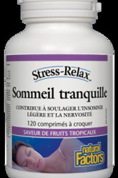 NF Stress-Relax Sommeil tranquille - 120 comprimés