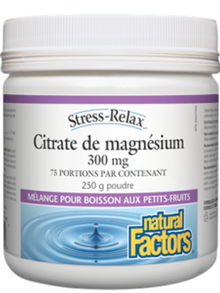 NF - Citrate de magnésium