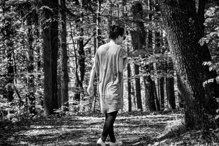 Ko se izgubiš tam, kjer si niti nisi mislil, da bi sploh lahko kdaj spet hodil.  When you get lost somewhere, where you never even imagined yourself going again.