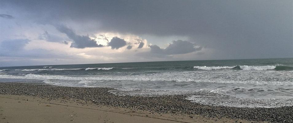 flagstaff beach Karamea