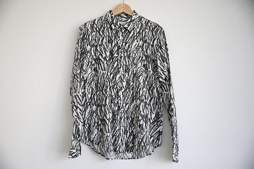 Sandro Print Shirt