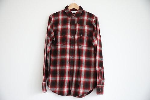 Saint Laurent Paris Flannel Shirt