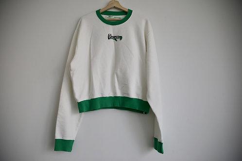 Off-White Embroidered Sweatshirt