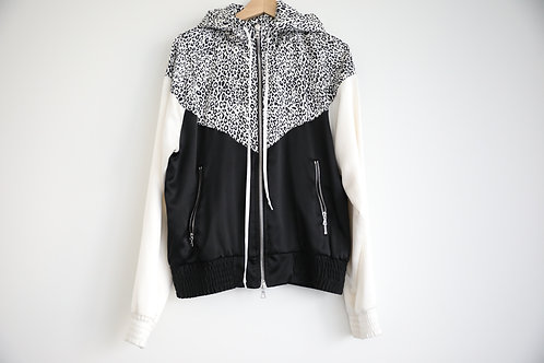 Amiri Leopard Silk Light Jacket