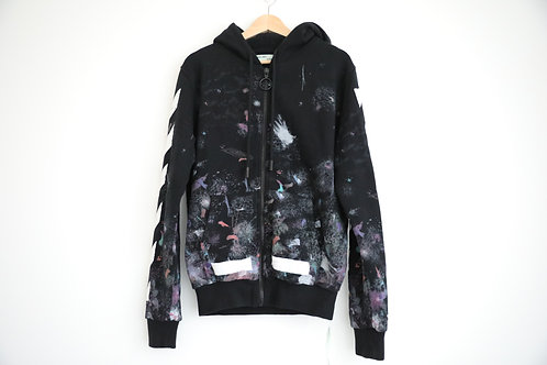 Off-White Galaxy Zipped Hoodie