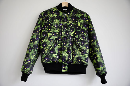 Givenchy Orchid Silk Bomber
