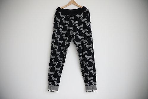 Thom Browne Puppy Wool Pants
