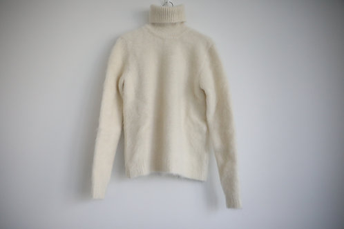 Saint Laurent Paris Mohair Turtle Neck Sweater
