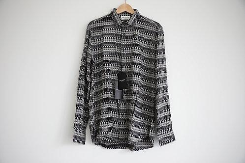 Saint Laurent Skeleton Silk Shirt