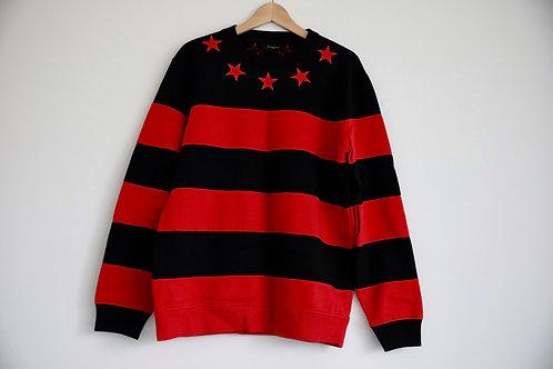 Givenchy Star Striped Sweatshirt