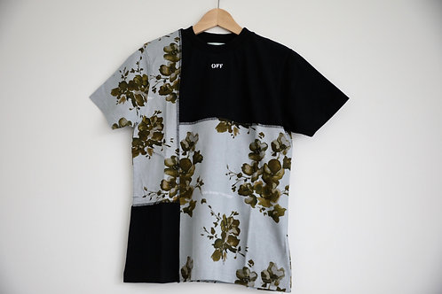 Off-White X Browns Floral Print T-shirt
