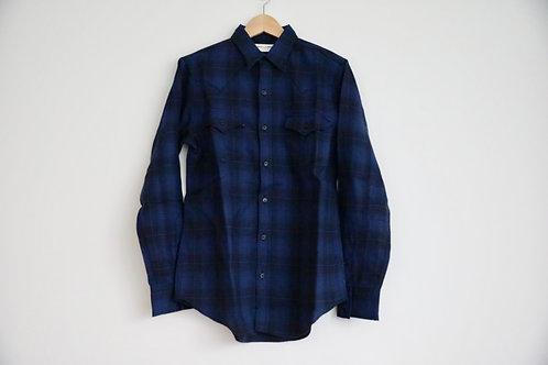 Saint Laurent Paris Wool Flannel Shirt