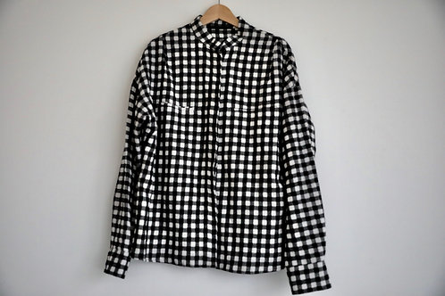 Haider Ackermann Checked Wool Shirt