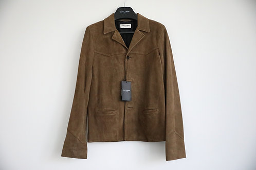Saint Laurent Paris Suede Jacket