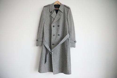 Vintage Yves Saint Laurent Double-Breast Wool Coat