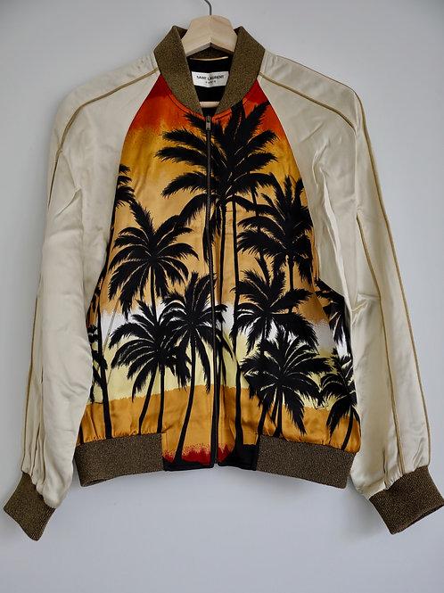 Saint Laurent Paris Palm Tree Jacket