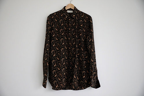 Saint Laurent Western Silk Shirt