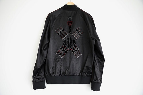 Valentino Silk Embellished Jacket