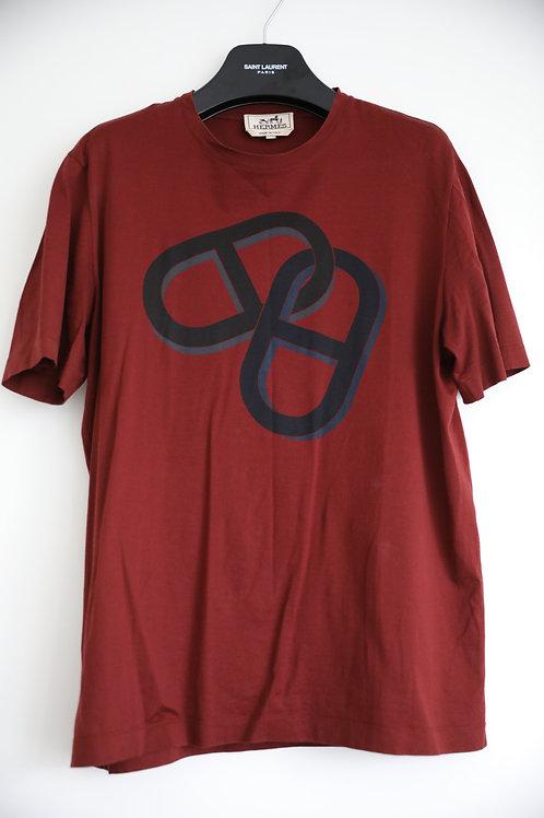 Hermes Printed T-shirt