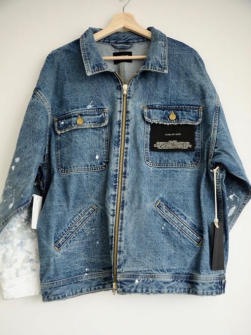 Fear of God Splash Denim Jacket