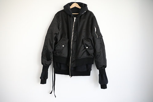 Unravel Reversible Hooded Bomber