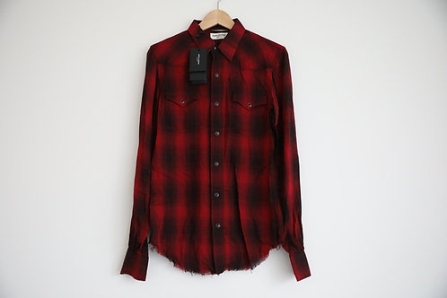 Saint Laurent Paris Distressed Shirt