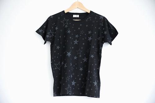 Saint Laurent Paris Star Print T-shirt