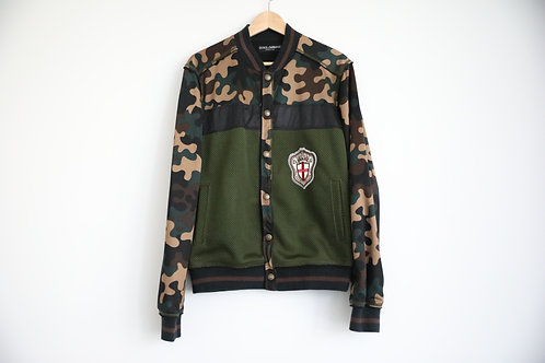 Dolce & Gabbana Camouflage Light-Weight Jacket