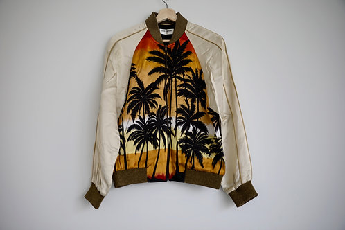 Saint Laurent Paris Palm Tree Jacket