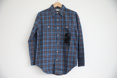 Saint Laurent Paris Flannel Button-up Shirt